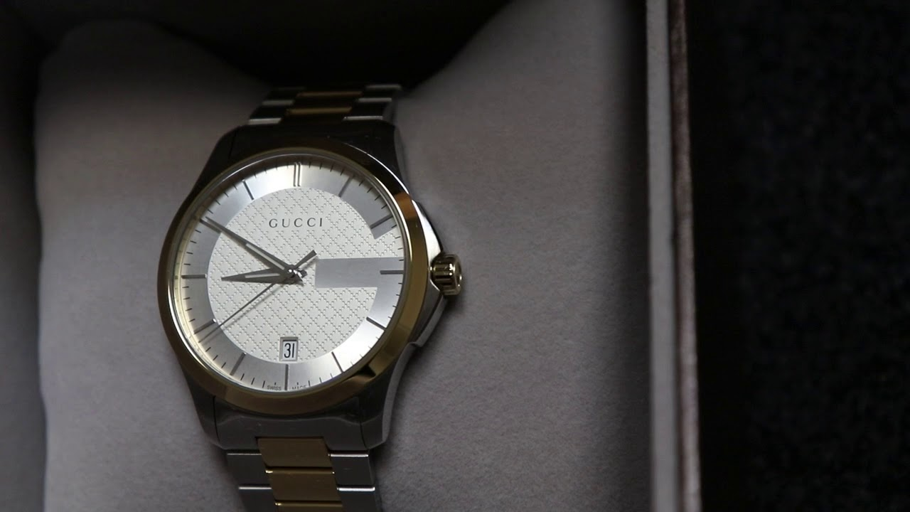 9dc2cae018a Gucci YA126450 Men s G-Timeless Two tone Quartz Watch  Gucci  Watches   Purchase Direct  GucciMens