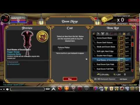=AQW=NEW WEDDING SHOP PREVIEW royal eternal flame +dual blades of  doomination