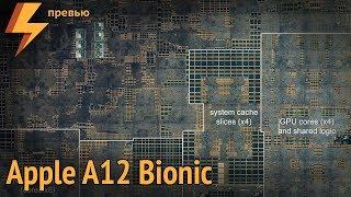 Внутри Apple A12 Bionic (компоновка чипа)