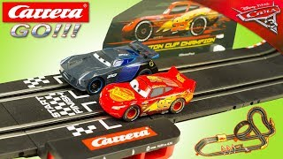 Carrera Go Cars 3 Circuit Voitures Flash McQueen Jackson Storm Jouet Toy Enfants Kids