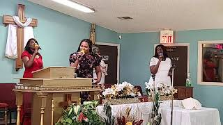 Exalting Christ | Greater Palm Bay COG| Sunday Service | Bishop J.R. Lewinson | 7.5.2020
