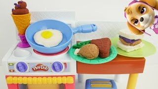 Play dough oven cooking