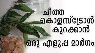 Home remedy to reduce Bad cholesterol
