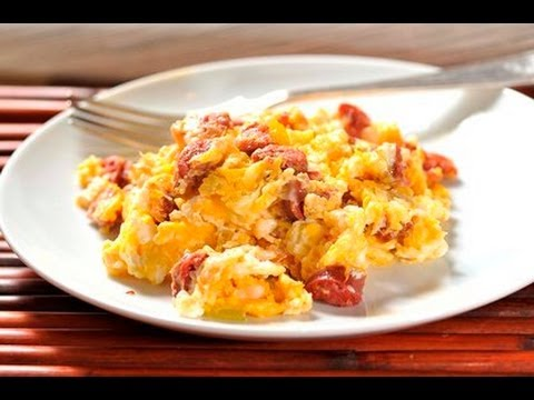 Huevos Rancheros Con Chorizo Huevos revuelto...