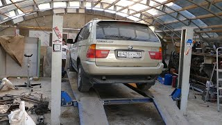 BMW X5 опять сломалась! Ремонтируем своими руками!