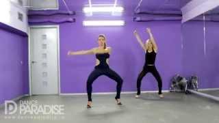 Видео уроки танцев – Go Go. Часть 5. [Школа Go-Go танцев Dance Paradise]