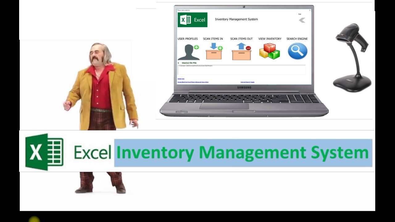 microsoft excel inventory