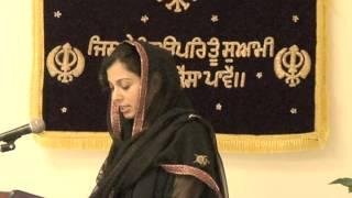 The Story of Sri Guru Nanak Dev ji : Speech by Bibi Madhu Kaur ji .