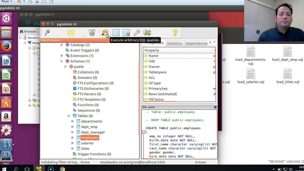Microcurso PostgreSQL - pgAdmin 3 y SQL