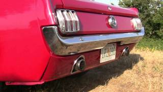 Ford Mustang 1965 V8 sound