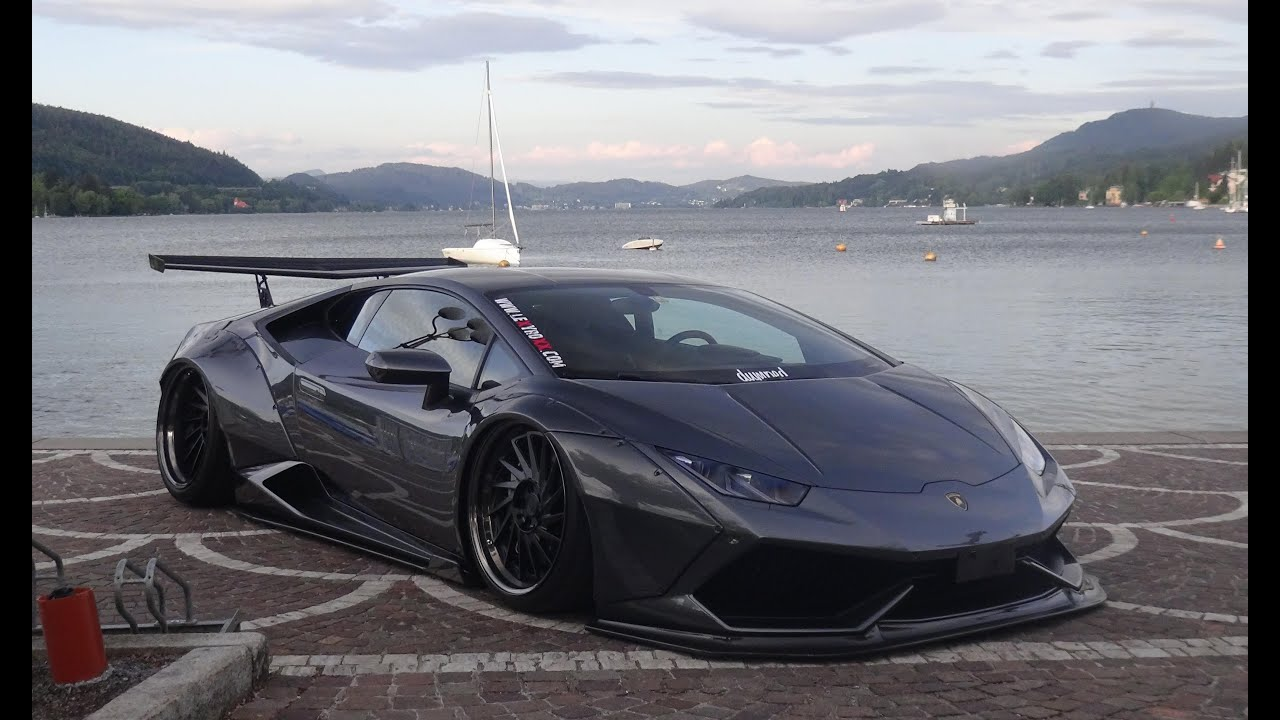 Liberty Walk Lamborghini Huracan Of German Pornstar Lexy Roxx Sound W 246 Rthersee Youtube