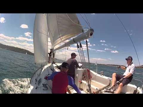 EDV in 2014 Sydney Beneteau Cup race 1