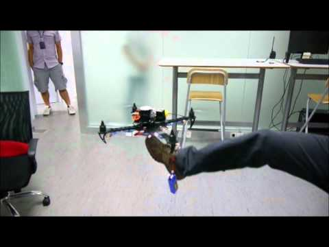 DJI WooKong-M On Quadcopter Test Collocetion