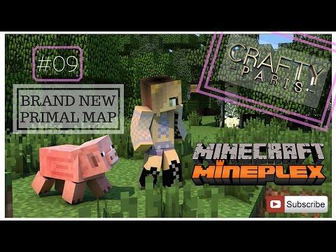 Minecraft Mineplex #09 New Survival Maps / Primal Map