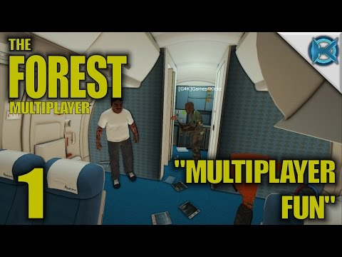 "The Forest Multiplayer Gameplay / Let's Play (S-1) -Ep. 1- ""Multiplayer Fun"""