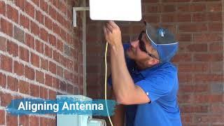 MetaLINK Fixed Wireless Internet Installation