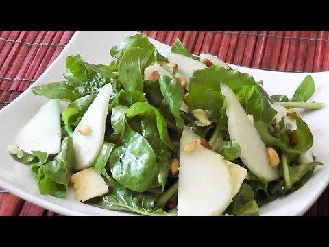 Rocket Salad with Pears - Mark's Cuisine #29