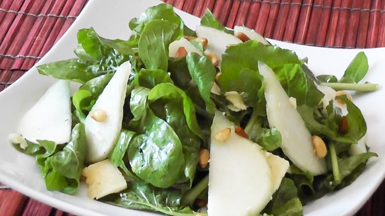 Rocket Salad with Pears - Mark's Cuisine #29 - YouTube