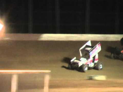 Trail-Way Speedway 358 Sprint Car Highlights 8-27-10