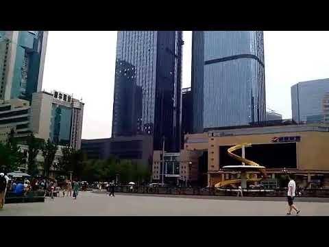 Tianfu square, Chengdu, China