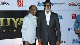 Big B unveils Rajinikanth's 'Kochadaiiyaan'trailer - IANS India Videos