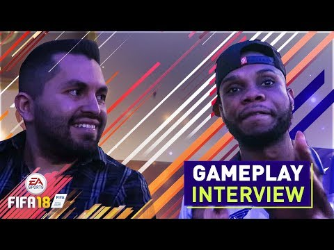 WHAT'S NEW WITH FIFA 18 GAMEPLAY? (EA PLAY 2017 PRODUCER INTERVIEW)