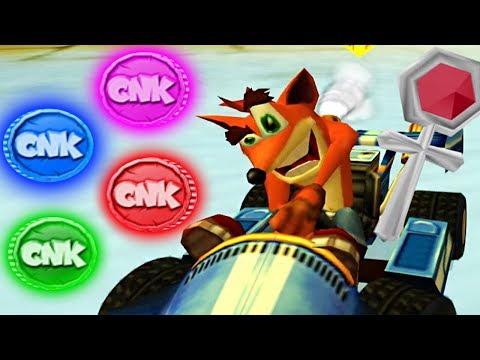 Crash Nitro Kart - CNK & Platinum Relics (101% Walkthrough) Part 6