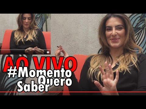 [AO VIVO] CLEO PIRES falando de SEXO e FUMANDO MACONHA em vídeo? E muito mais! #MomentoQueroSaber