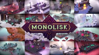Official MONOLISK - Build and raid dungeons! (by Trickster Arts s.r.o.) Launch Trailer (iOS/Android)