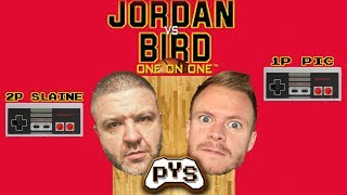 JORDAN vs BIRD for Nintendo, featuring Slaine