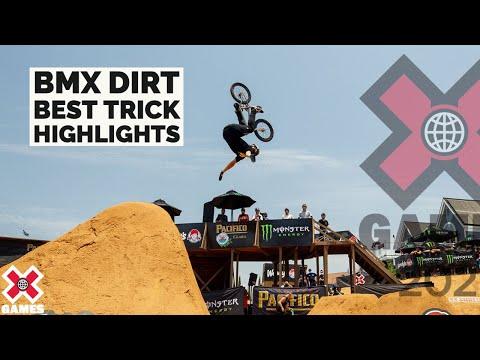 BMX DIRT BEST TRICK: HIGHLIGHTS | X Games 2021