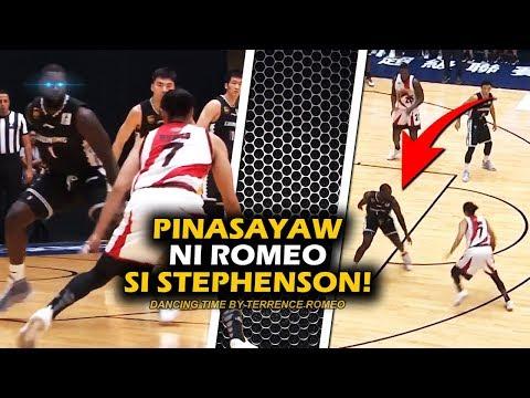 Crossover na Pinabaon ni Terrence Romeo kay Lance Stephenson! | Iwan ang 4 na Chinese kay Romeo!