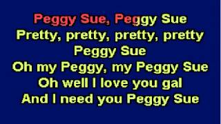 YouTube Peggy Sue Buddy Holly Karaoke wmv
