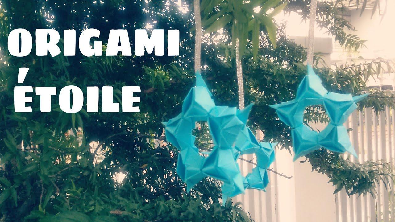 origami d coration comment faire une toile en papier. Black Bedroom Furniture Sets. Home Design Ideas