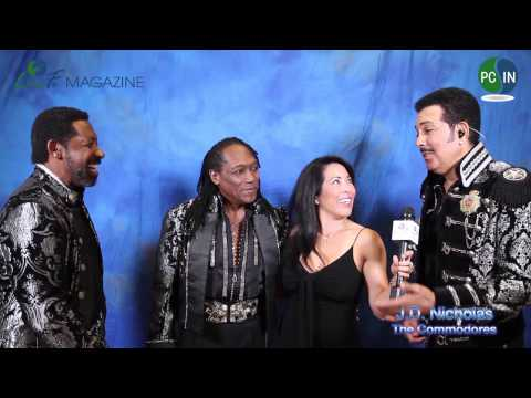 Backstage With The Commodores on Live Fit Magazine