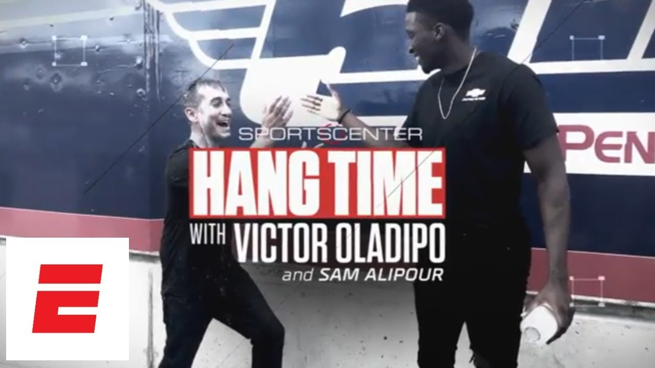 598f3de03f4 Victor Oladipo goes 180 MPH before driving pace car at Indy 500 | Hang Time  with Sam Alipour | ESPN