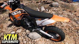 KTM Supermoto Exc 530sm Gta 5 Mod Motor Cross Offroad