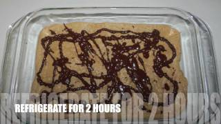 Peanut Butter Fudge Recipe With Chocolate Drizzle