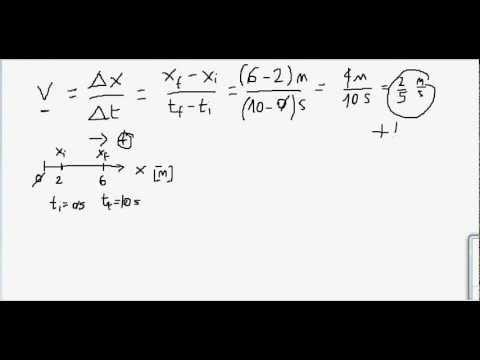 Fisica - Lezione 03 - Velocità - Tutorial di Fisica