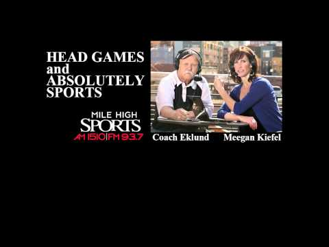 Head Games Show (Mile High Sports Radio) - Broadcast on April 28, 2012