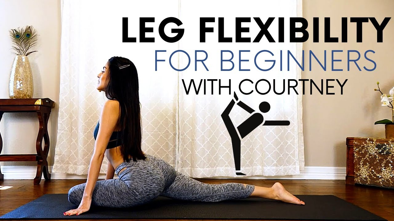 Leg Flexibility for Beginners, Stretches for the Glutes & Legs