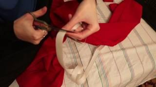 видео Как подшить брюки с помощью ленты