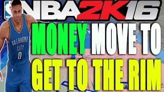 How To Attack the Rim and Score More Points (NBA 2K16 Tips and Tricks)