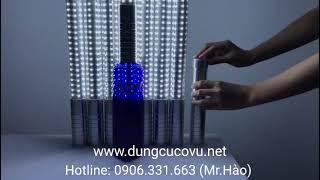 Thanh chụp đầu chai rượu phát sáng led trắng (Bigsize), đèn trang trí chai rượu led trắng siêu sáng