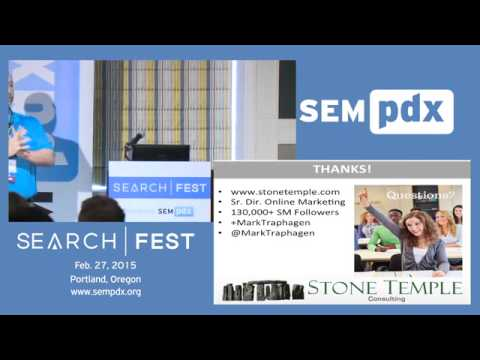 Social Content Flow - Mark Traphagen at SearchFest Portland 2015
