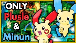 Can I Beat Pokemon Emerald with Only Plusle & Minun 🔴 Pokemon Challenges ► NO ITEMS IN BATTLE