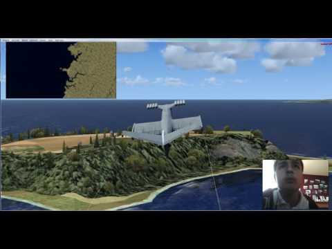 FSX: Caspian Sea Monster Waterford to Shannon