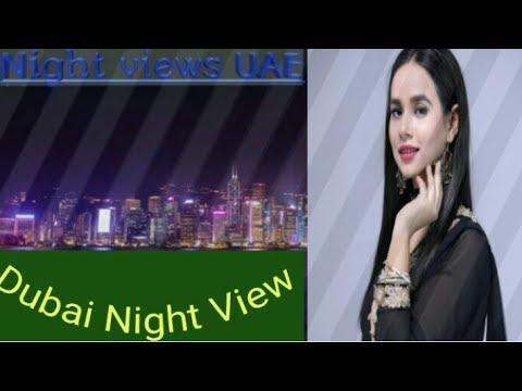 Dubai Night view ,wonderful night in Dubai,UAE thumbnail