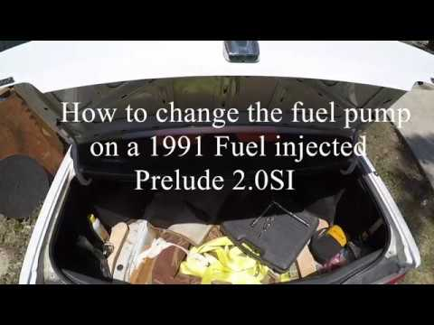 1990 honda prelude fuel pump wiring how to change fuel pump on a 1991 honda prelude 2 0 si youtube  1991 honda prelude 2 0 si