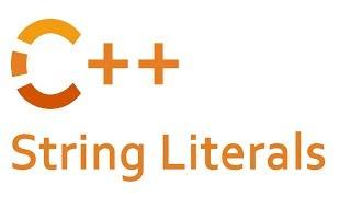 String Literals in C++